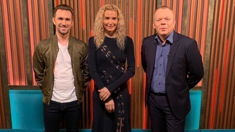 Даниил Глейхенгауз, Этери Тутберидзе иСергей Дудаков (слева направо). Фото Instagram
