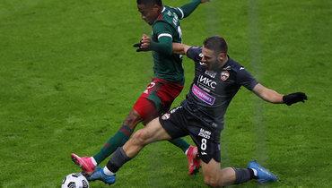 «Локо» Франсуа Камано обошел ЦСКА Николы Влашича вРПЛ ивыбил вполуфинале Кубка.