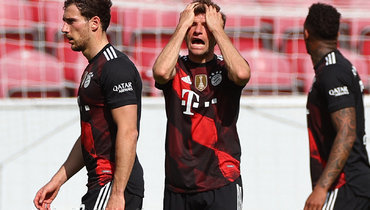 24апреля. Майнц. «Майнц»— «Бавария»— 2:1. Фото Reuters