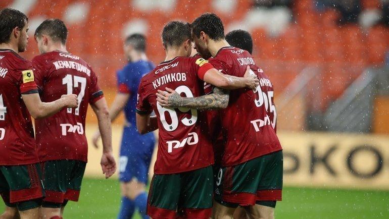 24апреля. Саранск. «Тамбов»— «Локомотив» (Москва)— 2:5. Фото ФК «Локомотив»