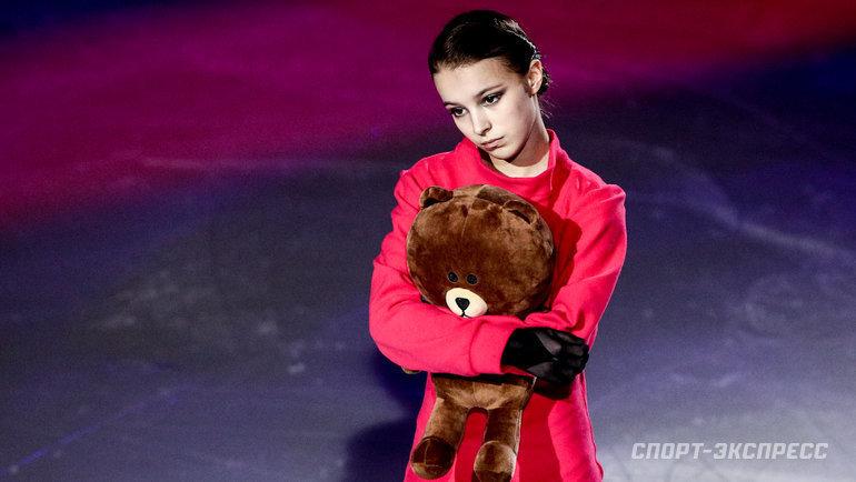Чемпионка мира Анна Щербакова. Фото Дарья Исаева, «СЭ» / Canon EOS-1D X Mark II