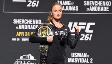 Шевченко защитила титул чемпионки UFC внаилегчайшем весе