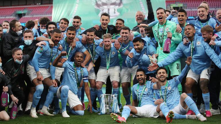 Отставка Моуринью неспасла «Тоттенхэм». «Сити» снова выиграл Кубок лиги