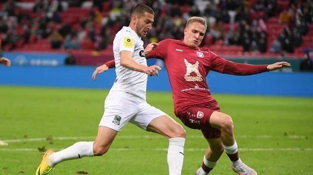 Рубин— Краснодар— 0:1. Обзор матча РПЛ 25апреля 2021 года, видео гола Ионова