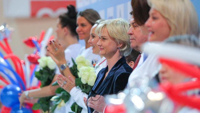 Двукратная олимпийская чемпионка Светлана Хоркина. Фото FONAR.TV