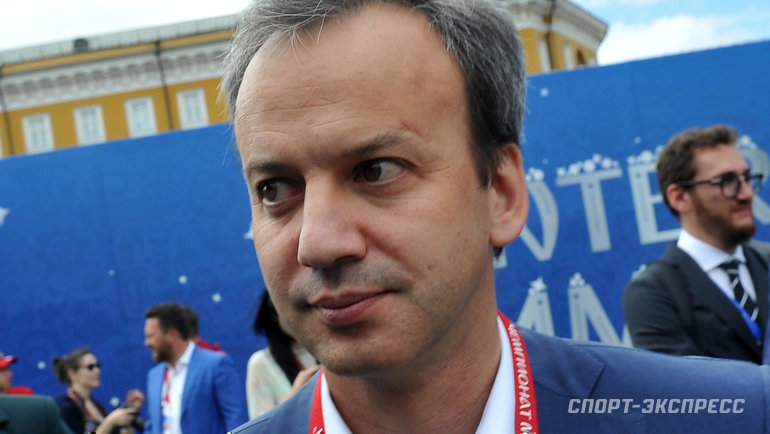 Аркадий Дворкович. Фото Федор Успенский, «СЭ» / Canon EOS-1D X Mark II