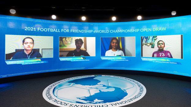Юные футболисты из211 стран ирегионов примут участие воВсемирном онлайн-чемпионате по «Футболу для дружбы»