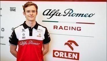 Каллум Айлотт стал резервным пилотом «Альфа Ромео»