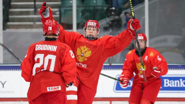 ЮЧМ похоккею 2021, Россия— США— 7:6 ОТ, итоги матча