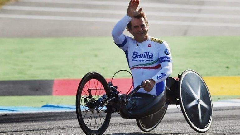 Алессандро Дзанарди. Фото paralympic.org.