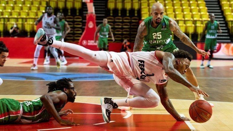 27апреля. Монако— УНИКС— 89:87. Фото eurocupbasketball.com.