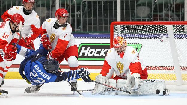 Россия— Финляндия— 3:4Б, обзор матча юниорского чемпионата мира, видео голов, 28апреля 2021 года