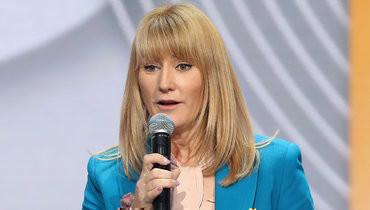 Журова назвала неуважением инцидент соснятием российского флага наматче зазвание чемпионки мира пошашкам