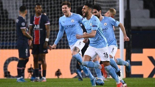 ПСЖ— Манчестер Сити— 1:2, обзор первого матча 1/2 финала Лиги чемпионов, видео голов 28апреля 2021 года
