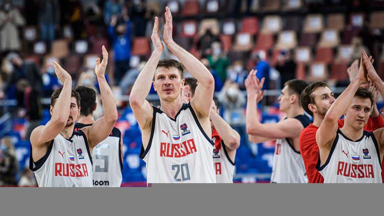 Сборная России выступит в группе А на чемпионате Европы по баскетболу 2022 года. Фото FIBA
