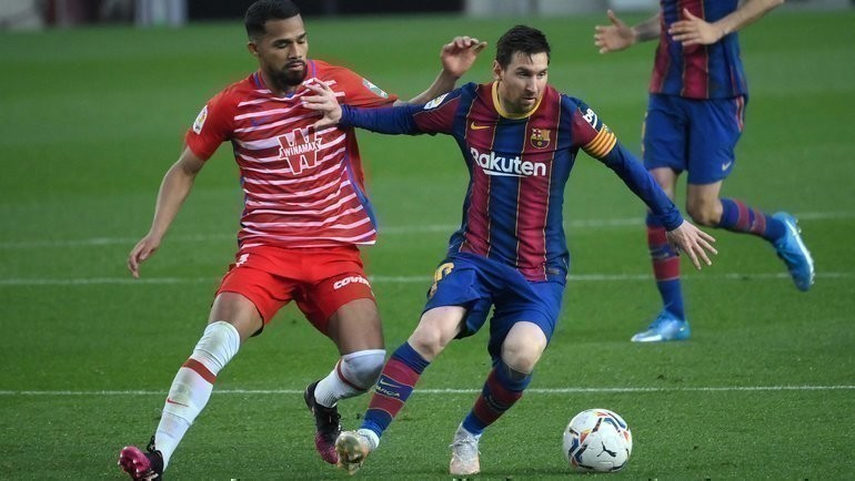 29апреля. «Барселона»— «Гранада». Фото Reuters