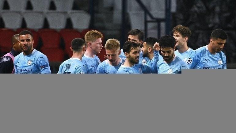 Футболисты «Манчестер Сити». Фото AFP