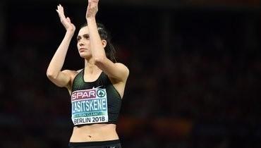 Ласицкене иеще троих российских легкоатлетов допустили ксоревнованиям внейтральном статусе