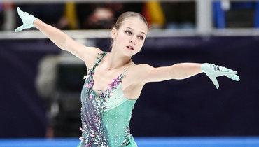 Трусова вернулась в «Хрустальный» ипровела тренировку вобщей группе