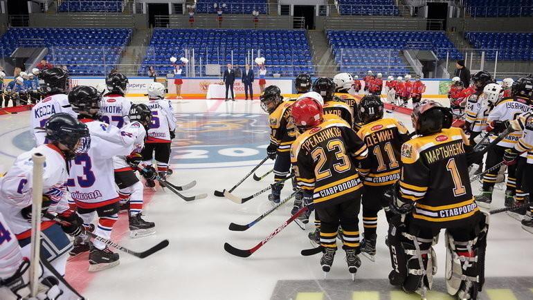 1мая вСочи стартовал первый детский хоккейный турнир Sirius Sochi Cup.