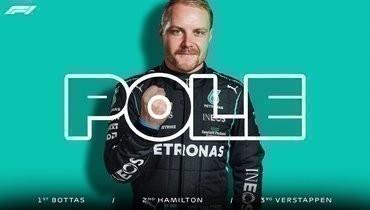 Боттас выиграл квалификацию «Гран-при Португалии», Мазепин стал последним