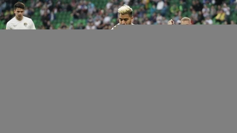 1мая. Краснодар. «Краснодар»— «Сочи». Гол Нобоа спенальти. Фото ФК «Сочи».