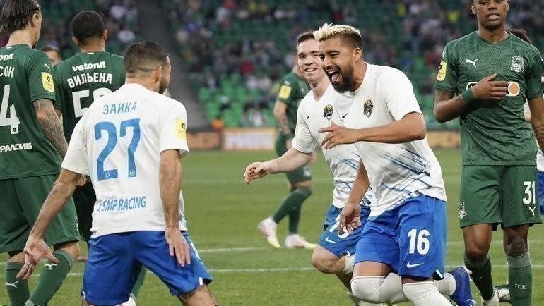 «Краснодар» — «Сочи»: Нобоа забил после ошибки Сафонова