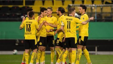 Дортмундская «Боруссия» разгромила «Хольштайн» ивышла вфинал Кубка Германии