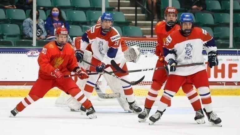 2мая. Россия— Чехия— 11:1. Фото IIHF