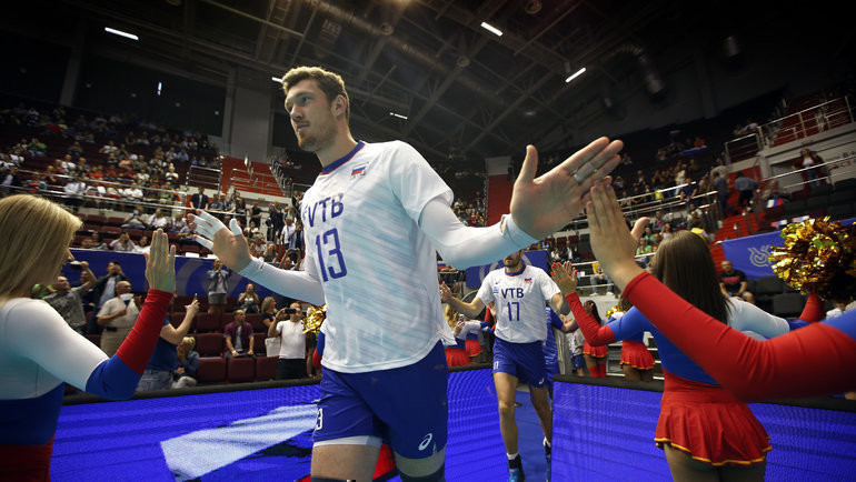 Дмитрий Мусэрский. Фото FIVB