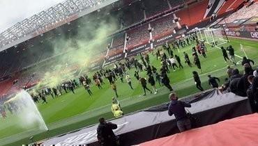 Как фанаты «Манчестер Юнайтед» протестуют против Глейзеров. Фото, видео