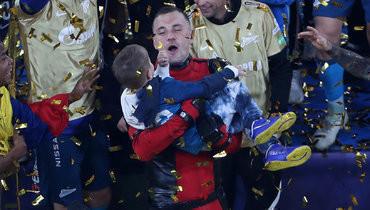 Дзюба— опраздновании чемпионства вкостюме супергероя: «Дэдпул лучший вовсем, так что это точно я»