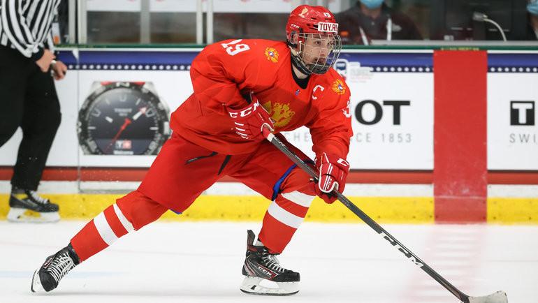 Сборная России сыграет против Белоруссии в1/4 финала ЮЧМ-2021. Фото IIHF