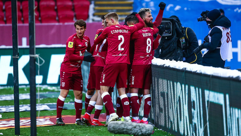 Футболисты «Рубина». Фото Джалиль Губайдуллин/ФК «Рубин»