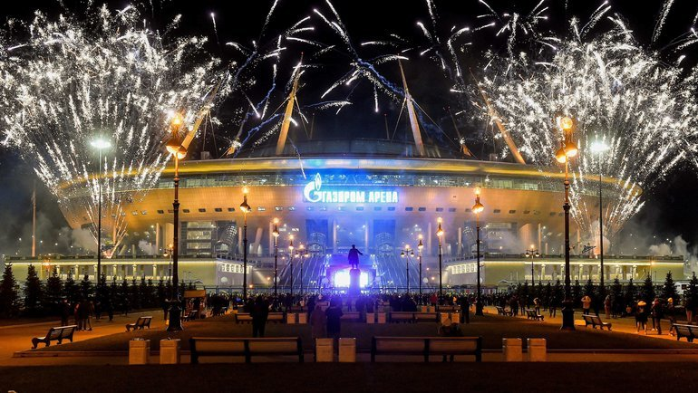 2мая. Санкт-Петербург. «Зенит»— «Локомотив»— 6:1. Фото AFP