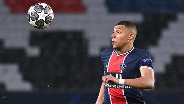 Мбаппе попал взаявку «ПСЖ» наответный матч 1/2 финала Лиги чемпионов