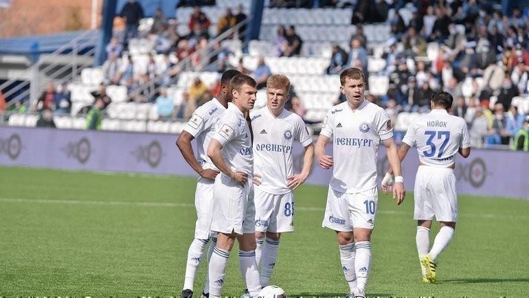 Футболисты «Оренбурга». Фото ФК «Оренбург»