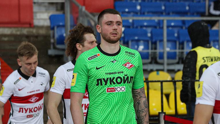 Александр Селихов. Фото ФК «Спартак»