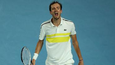 Медведев сохранил третье место вобновленном рейтинге ATP