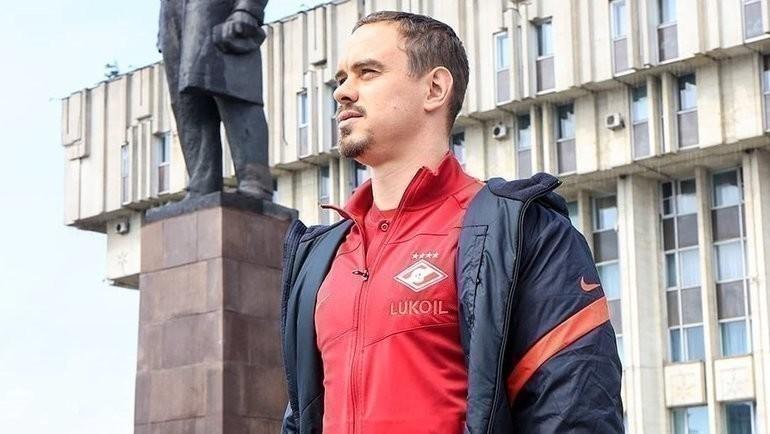 Андрей Ещенко. Фото Александр Ступников, ФК «Спартак»