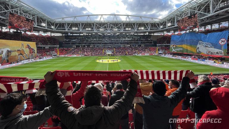 Новый главный тренер «Спартака» будет иностранцем. Фото Дарья Исаева, «СЭ» / Canon EOS-1D X Mark II