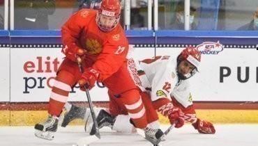Россия победила Белоруссию ивышла вполуфинал юниорского чемпионата мира