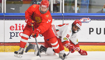 3мая. Плейно. Россия U18— Белоруссия U18— 5:2. Русские юниоры вышли вполуфинал чемпионата мира.