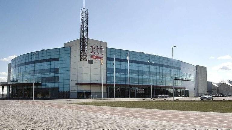 Хоккейная арена вРиге. Фото Зденек Матоусек.