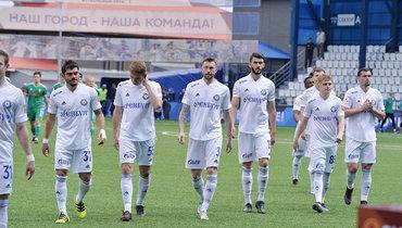 Футболисты «Оренбурга».