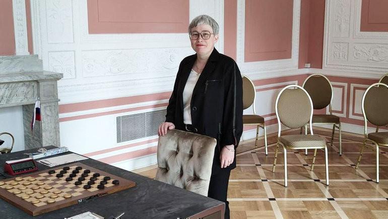 Российская шашистка Тамара Тансыккужина. Фото facebook.com