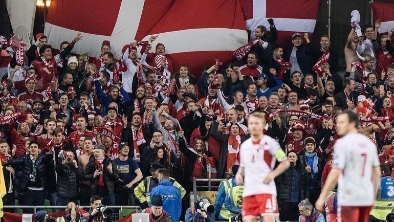 Болельщики сборной Дании. Фото Instagram