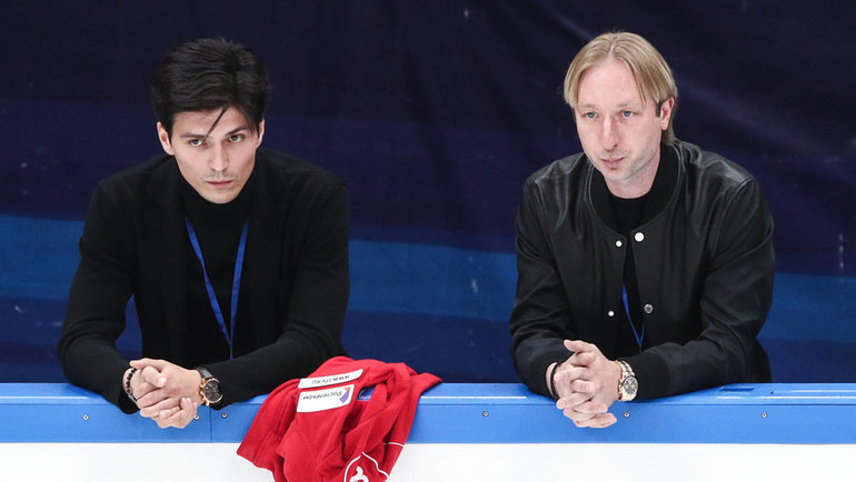Сергей Розанов и Евгений Плющенко. Фото Дарья Исаева., «СЭ» / Canon EOS-1D X Mark II