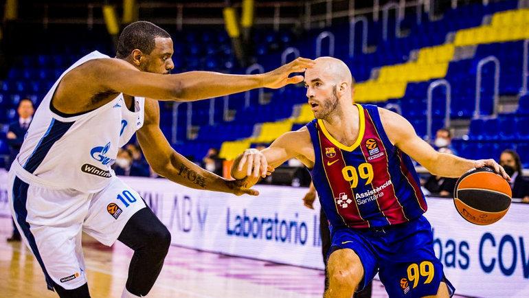 4мая. «Барселона»— «Зенит»— 79:53. Фото БК «Барселона».