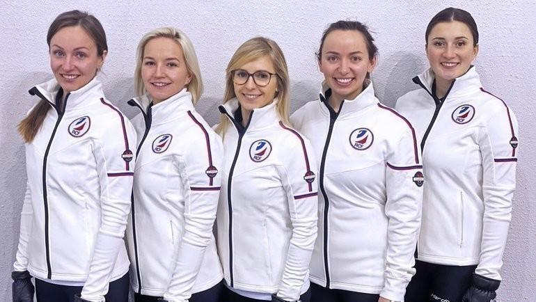 Женская сборная России. Фото curling.ru